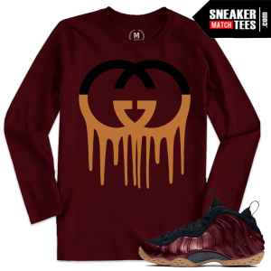 Maroon Foams Matching T shirts