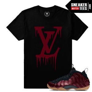 Sneaker Shirts Match Nike Maroon