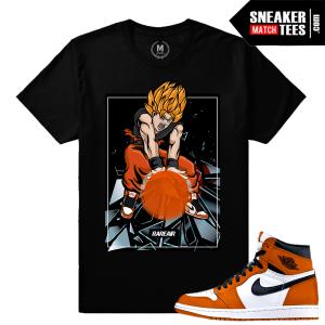 Sneaker Tees Match Jordan 1 Reverse Shattered Backboard
