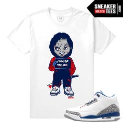 true blue 3s t shirt Match