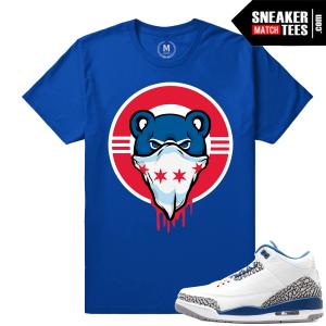 True Blue 3s t shirt
