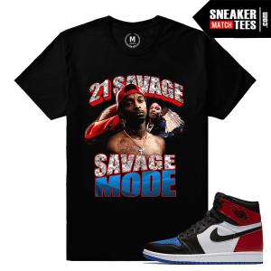 21 Savage T shirt Match Jordan 1 Top 3 Pick