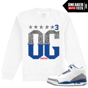 Air Jordan 3 True Blue Clothing