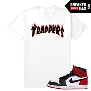 Black Toe Jordan 1 Match T shirt