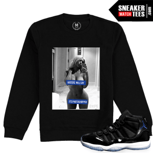 Jordan 11 Space Jam Retro Crewneck Match