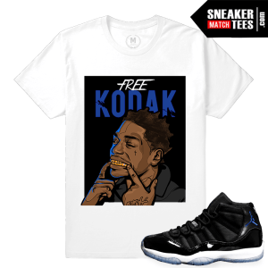 Space Jam 11 Matching Shirt Sneaker tee