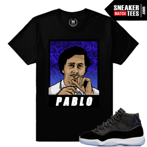 Jordan 11 Space Jam T Shirts Match