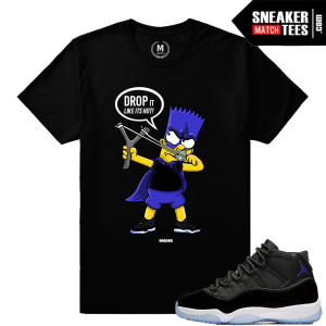 Jordan 11 Space Jam T shirt Match Sneakers