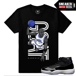 Jordan 11 Space Jam Tshirt Match