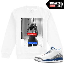 Jordan 3 True Blue Sweatshirt