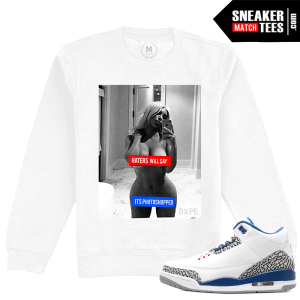Jordan 3 True Blue Sweatshirt