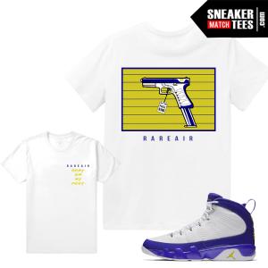 Jordan 9 Kobe Match Sneaker Tees