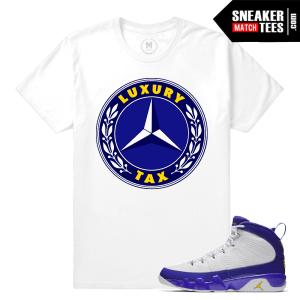 Jordan Retros Match Jordan 9 Kobe Shirts
