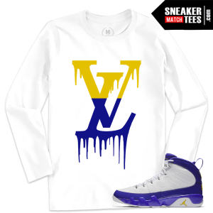 Match Jordan Retro 9 Kobe Long Sleeve T shirt