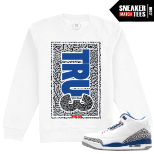 Sneaker Clothing Match True Blue 3