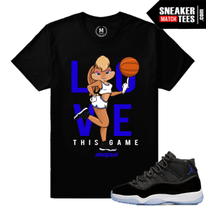 Sneaker Match Space Jam 11 Tees