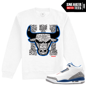 Sneaker Match Tees True Blue 3 Crewneck