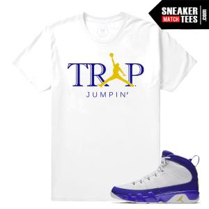 Sneaker Tees Jordan 9 Kobe Match