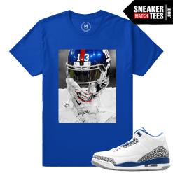 True Blue 3s Matching Odell Beckham Jr Joker T shirt