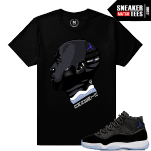 Sneaker Tees Matching Space Jam 11s
