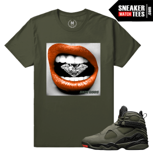 Jordan 8 Take Flight Matching Sneaker tees