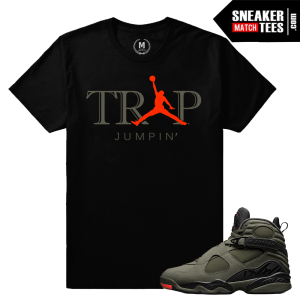 Jordan 8 Take Flight Sneaker tees Match