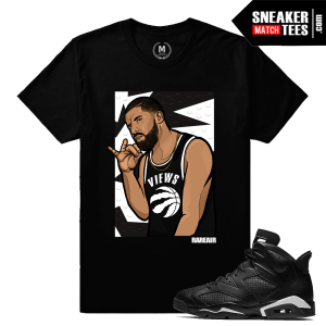 Shirts Match Black Cat 6 Jordan Retros