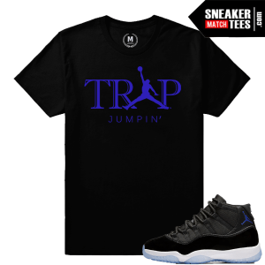 Jordan 11 Space Jam Retros T shirt