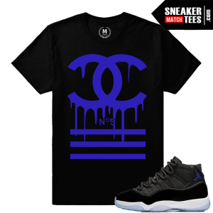 Sneaker Tees Match Jordan 11 Space Jam