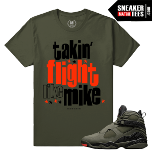 Sneaker Tees Match Jordan 8 Take Flight Sneakers