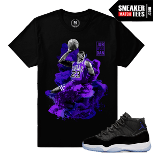 Space Jam 11 Matching T shirt Concord Purple