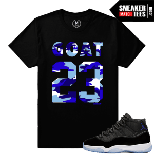 Space Jam 11 Matching T shirt Sneaker tee