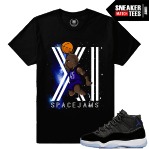 Space Jam 11 T shirt Matching Space Jam
