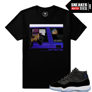 T shirt Matching Space Jam Jordan Retro 11