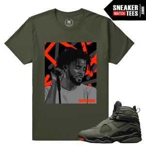 Take Flight 8 Matching Sneaker Tee Shirt