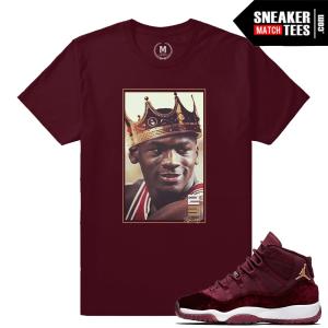 Velvet 11 Jordan Matching T shirts
