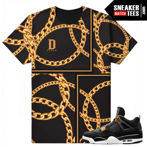 Air Jordan 4 Royalty Retro Jordan 4s T shirt