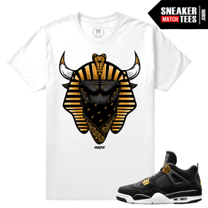 Air Jordan 4 Royalty Sneaker tee