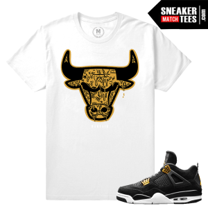 Air Royalty 4s Jordan T shirts