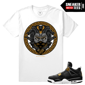 Jordan 4 Royalty Retro T shirt Match