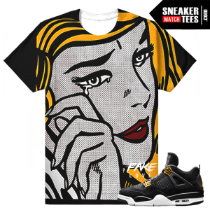 Jordan 4 Royalty T shirt Match Retro 4s
