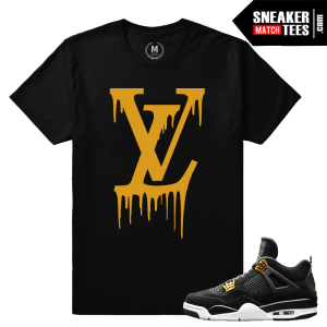 Jordan 4 Royalty t shirts match