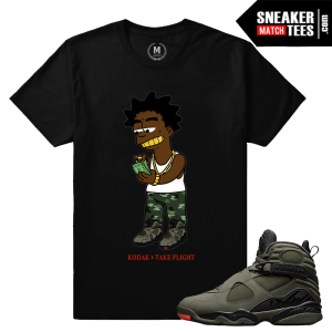 Jordan 8 Take Flight Matching Shirts
