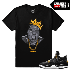 Match Jordan 4 Royalty Shirt