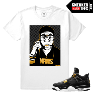 Match Jordan T shirt Royalty 4s