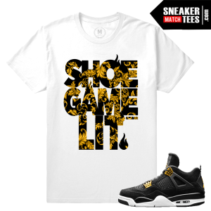 Match Royalty 4 Jordan Sneaker Tees