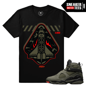 Match Sneaker Jordan 8 Take Flight Shirts