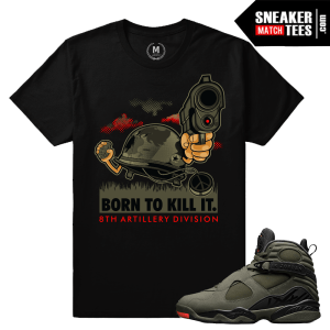 Match Sneaker Tee Shirts Jordan 8 Take Flight