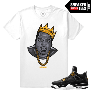 Matching Sneaker tee Royalty 4 Air Jordan