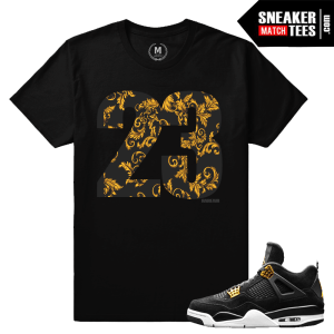 Matching T shirt Royalty 4s